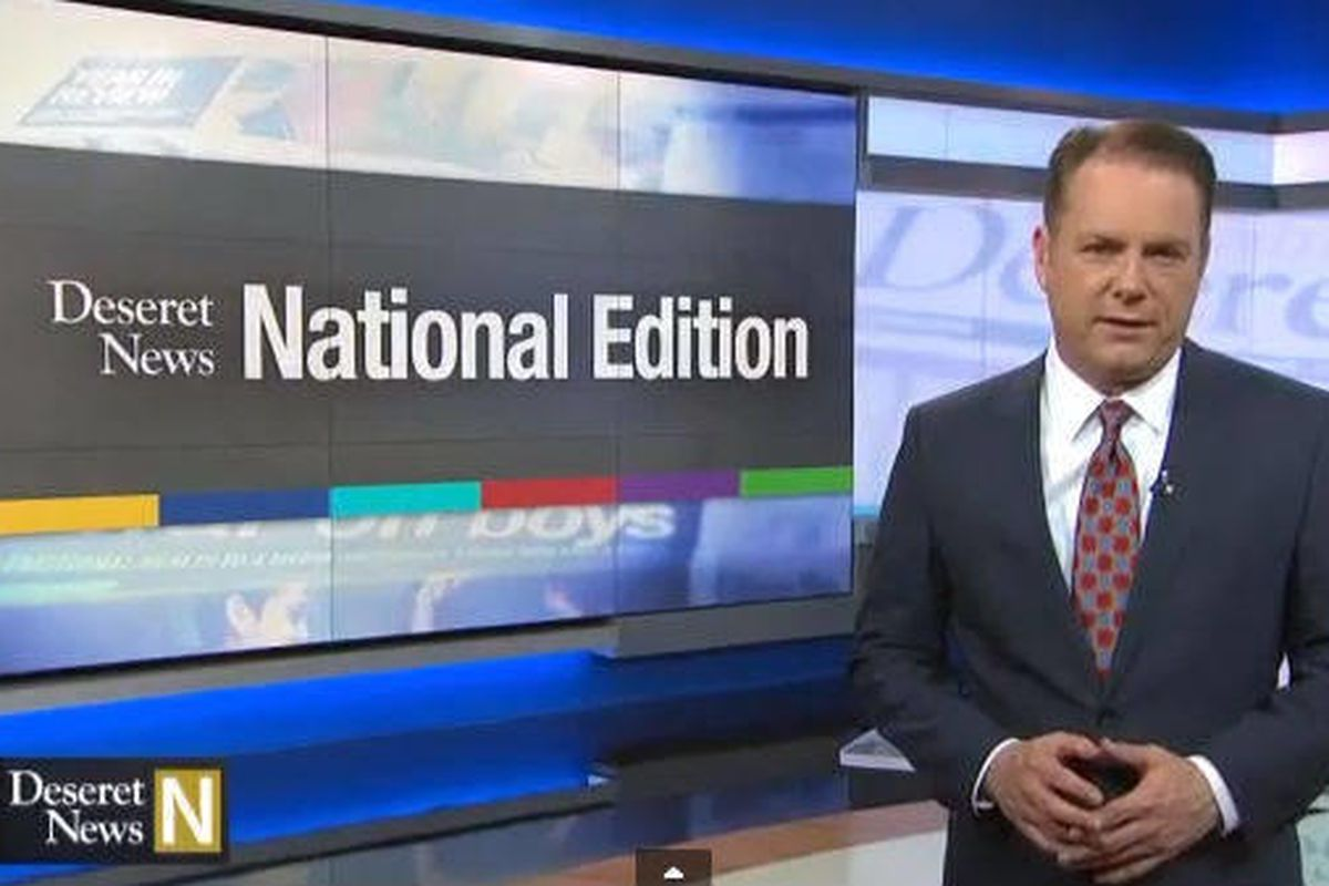 """In the latest """"Deseret News National Edition,"""" Dave McCann talks with DN reporters on mental illness, the new """"Cosmos"""" TV show, the upcoming """"Noah"""" movie and a variety of other topics."""