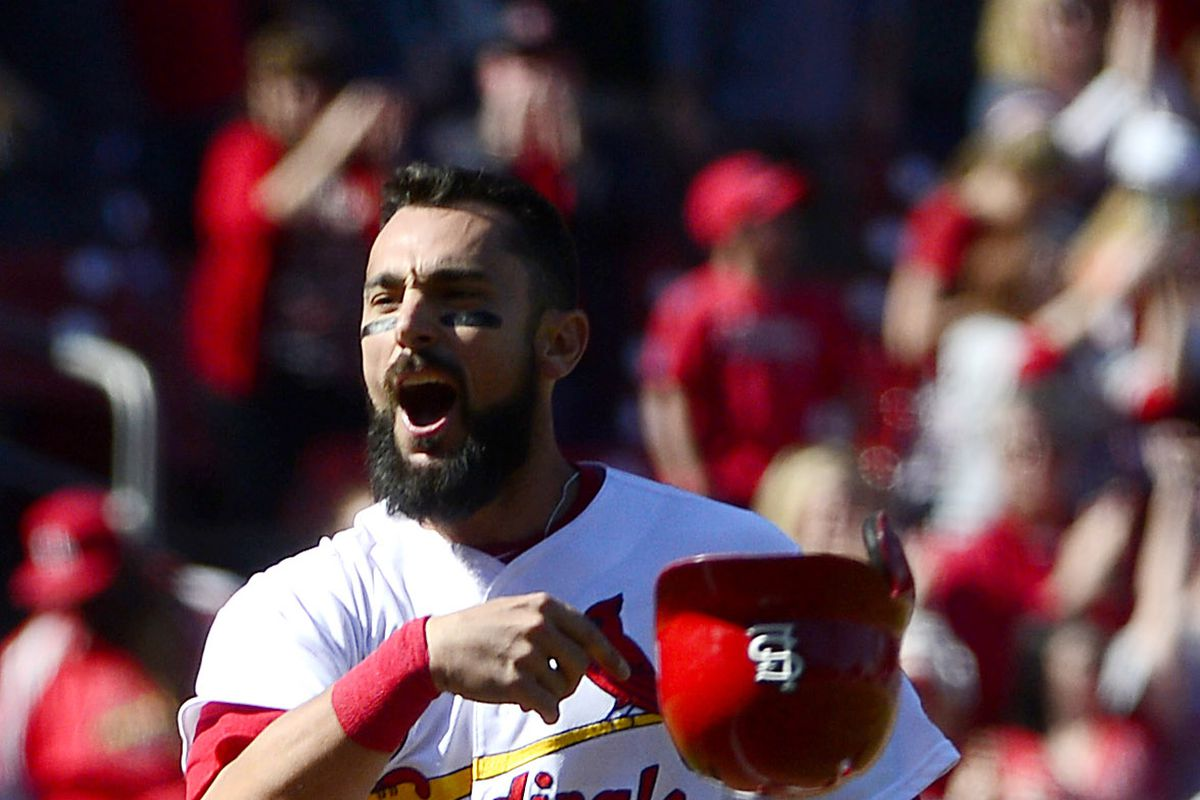 MLB: Game One-Toronto Blue Jays at St. Louis Cardinals