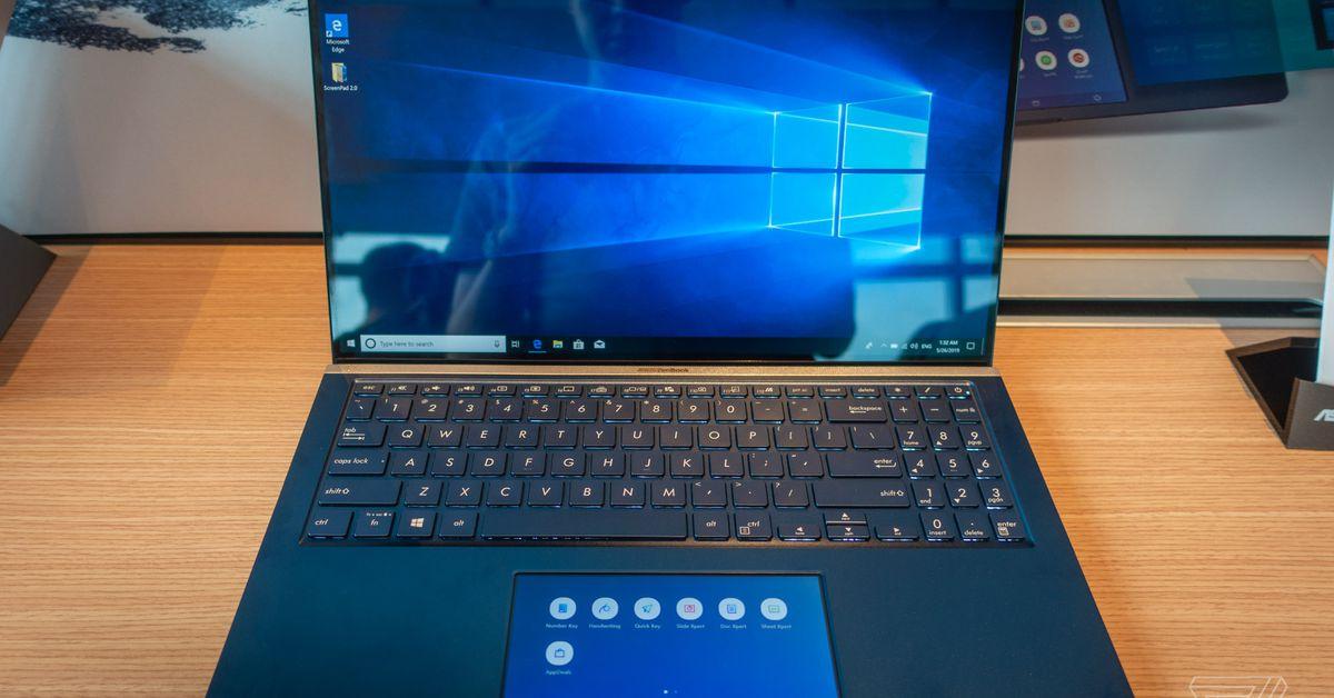 Asus เข้าสู่ trackpads หน้าจอสัมผัสด้วย ZenBooks และ VivoBooks ใหม่ thumbnail
