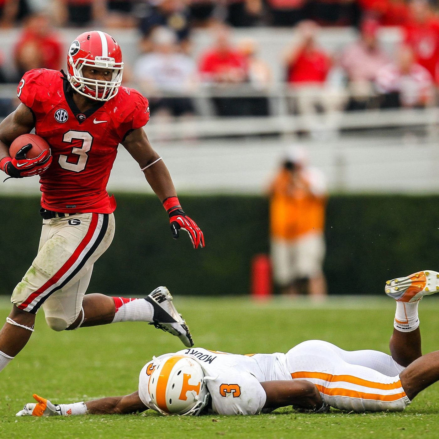 My God A Freshman Todd Gurley And His Place In Georgia Bulldogs History Dawg Sports