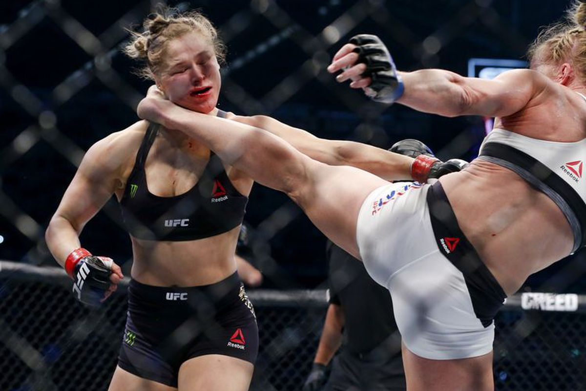 Image result for ronda rousey holly head kick