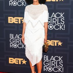 The actress Tracee Ellis Ross was the host of the Black Girls Rock! event this year.