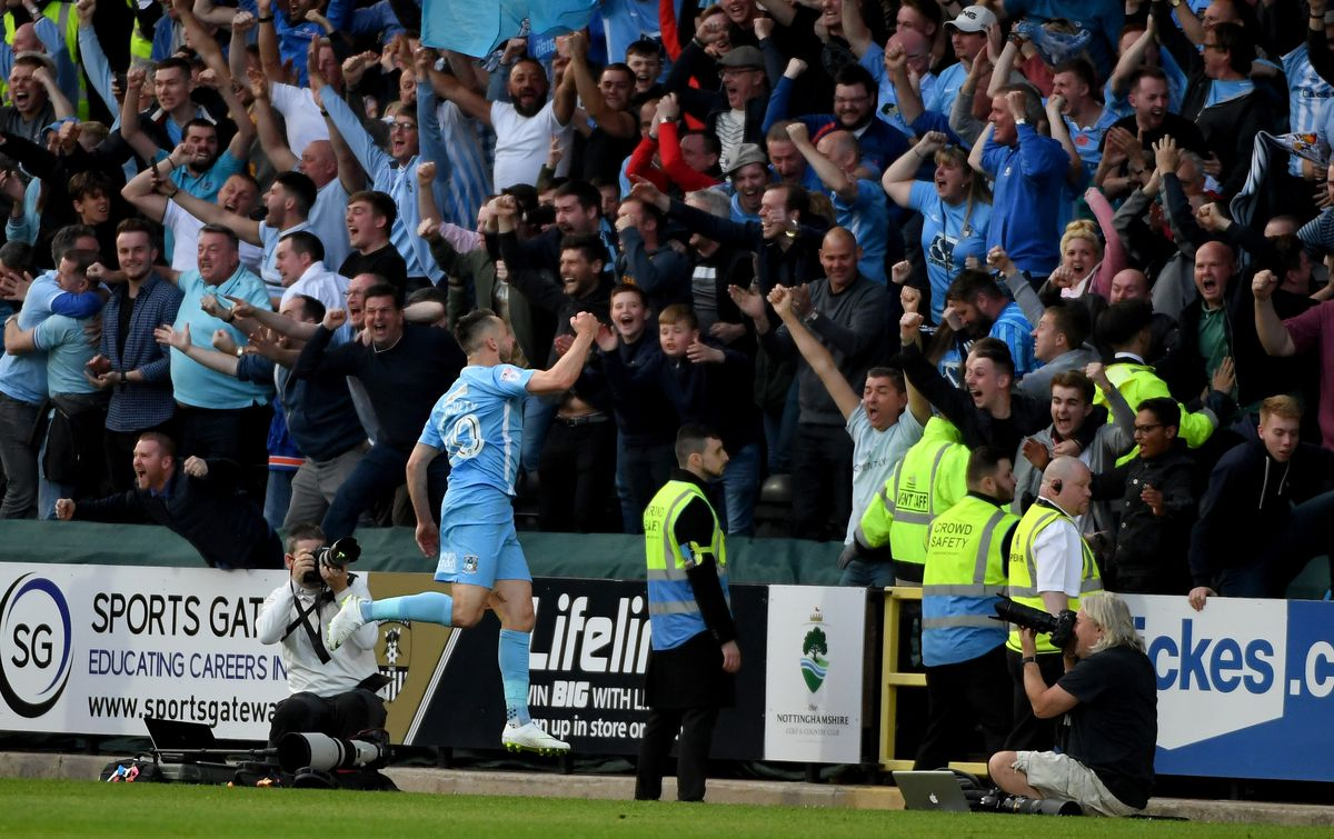 Notts County v Coventry City - Sky Bet League Two Play Off Semi Final:Second Leg