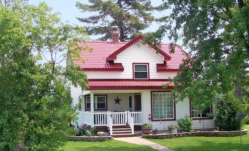 tile look metal roof, July/Aug 2020