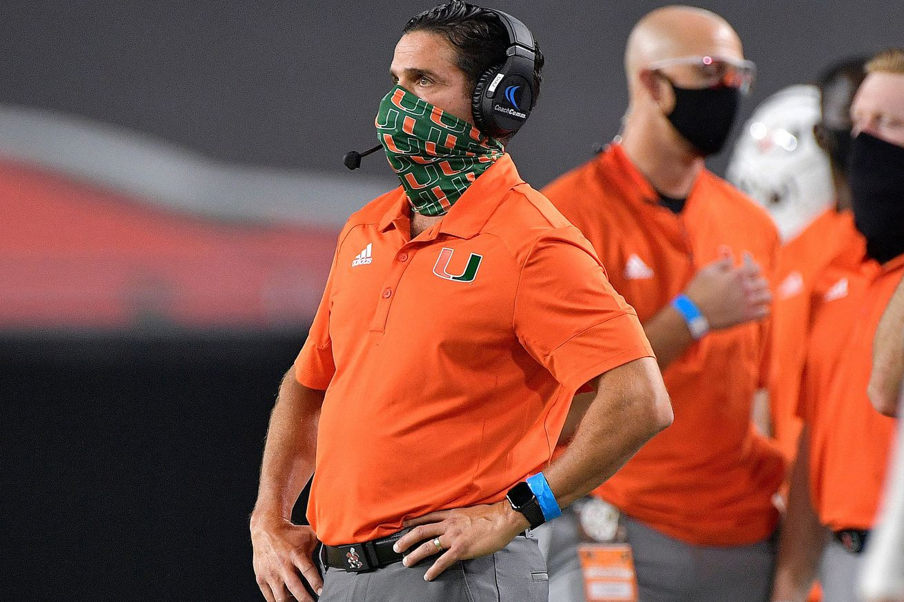 Manny Diaz: Hurricanes 'learning how to win in different ways,' even as poll voters think less of them