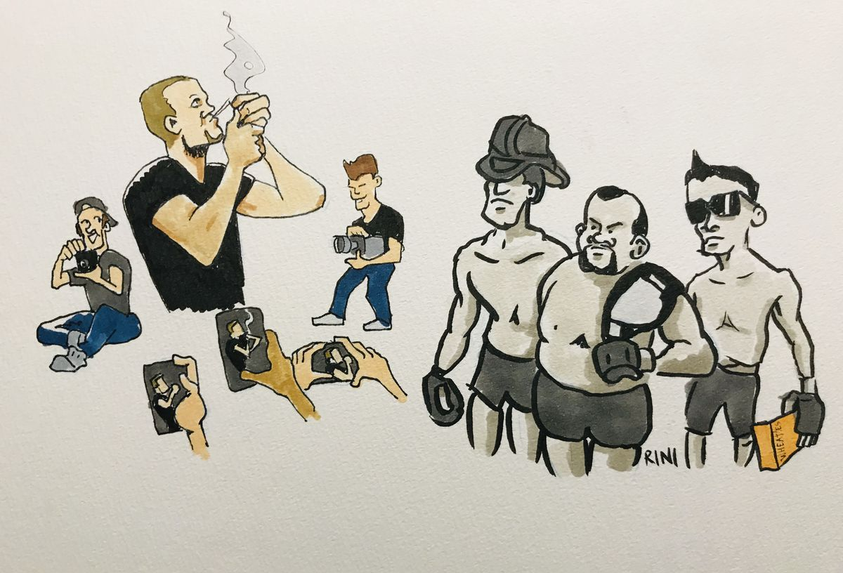 MMA Squared, Chris Rini, Nate Diaz, UFC 241, Daniel Cormier, Dana White, Pot, sparks up, Smokes, Stipe Miocic, Anthony Pettis, Open workouts