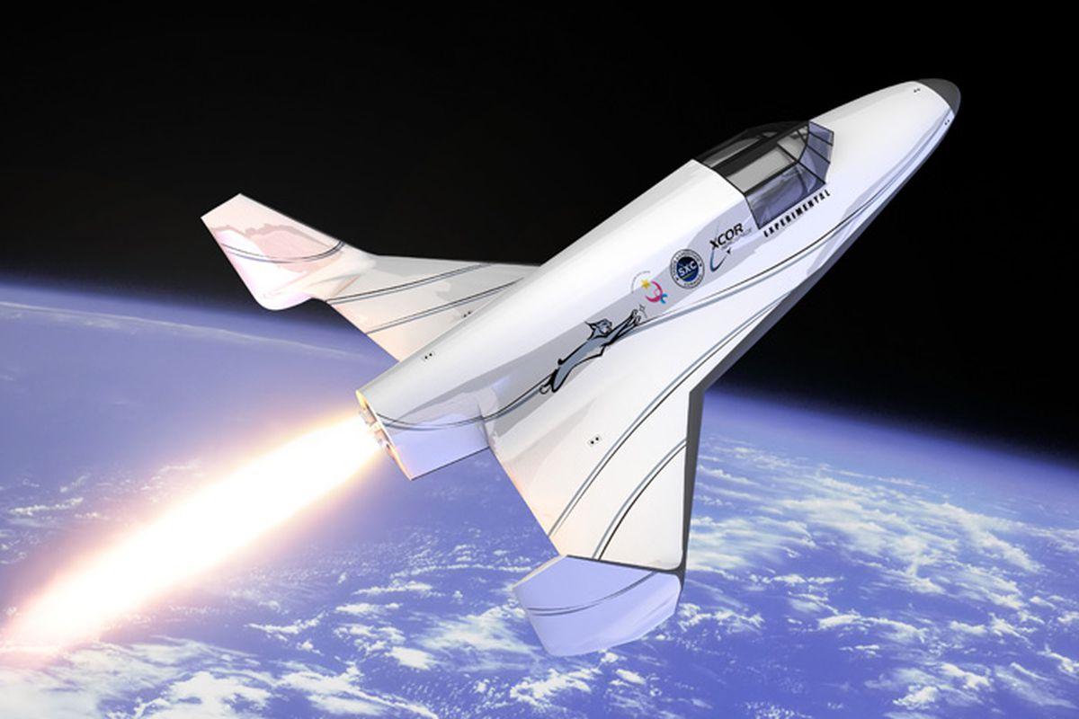 XCOR Lynx spaceship