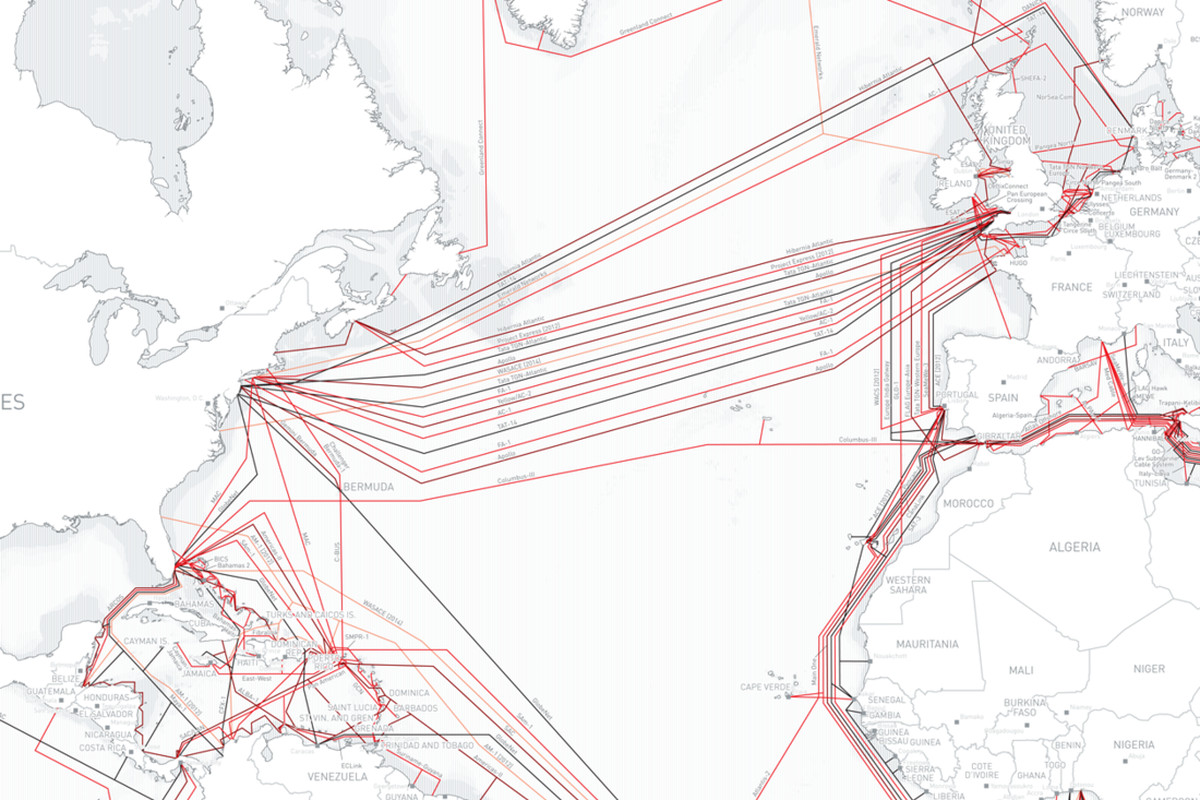 TeleGeography\'s Submarine Cable Map reveals backhaul ...