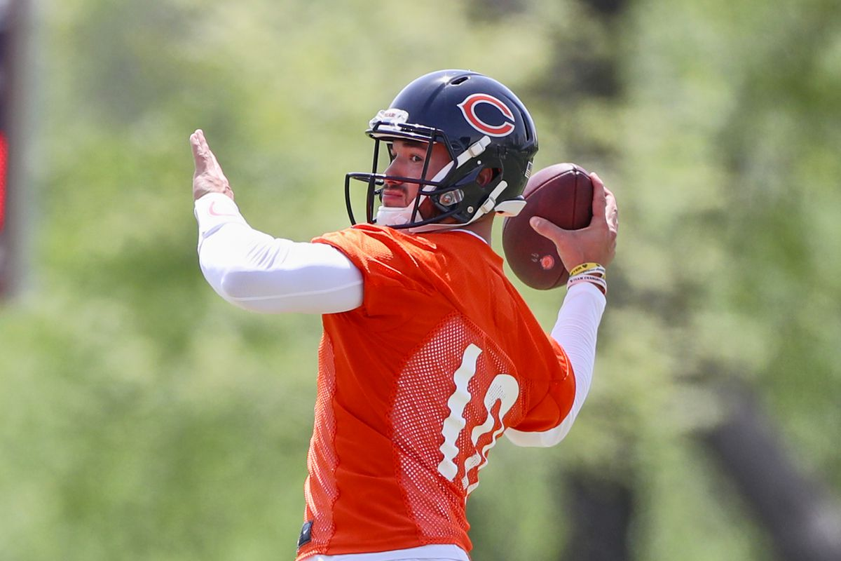 Right now Mitchell Trubisky is an average QB