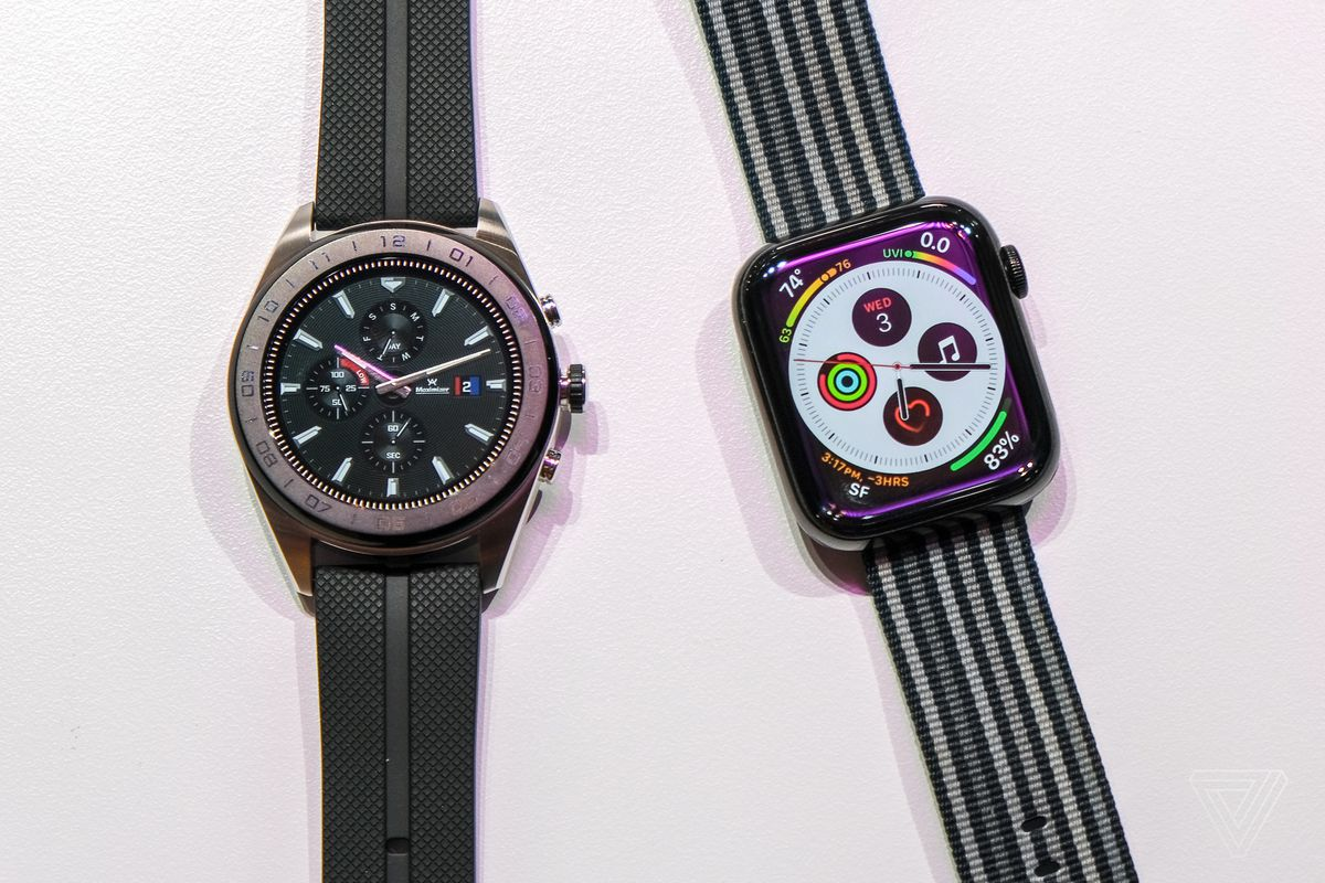 LG's Watch W7 is a $450 hybrid Wear OS smartwatch with