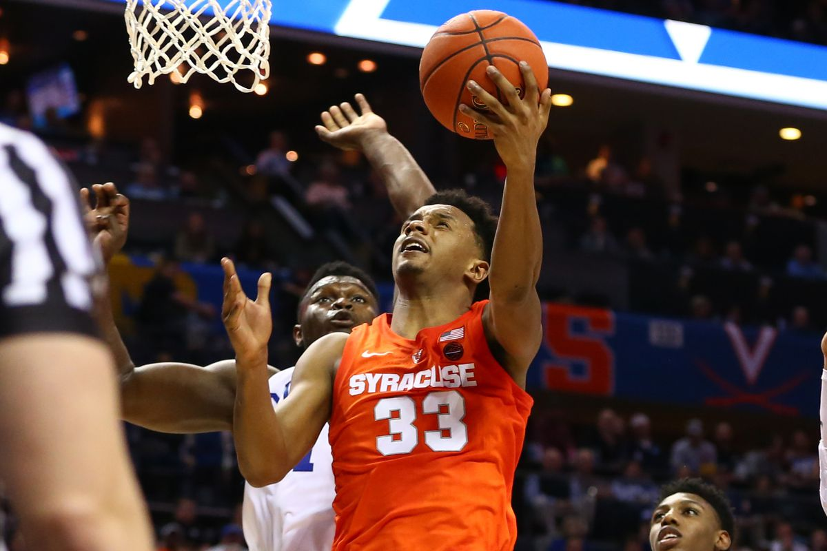 Syracuse Men S Basketball 2018 19 Full Acc Schedule And Tv