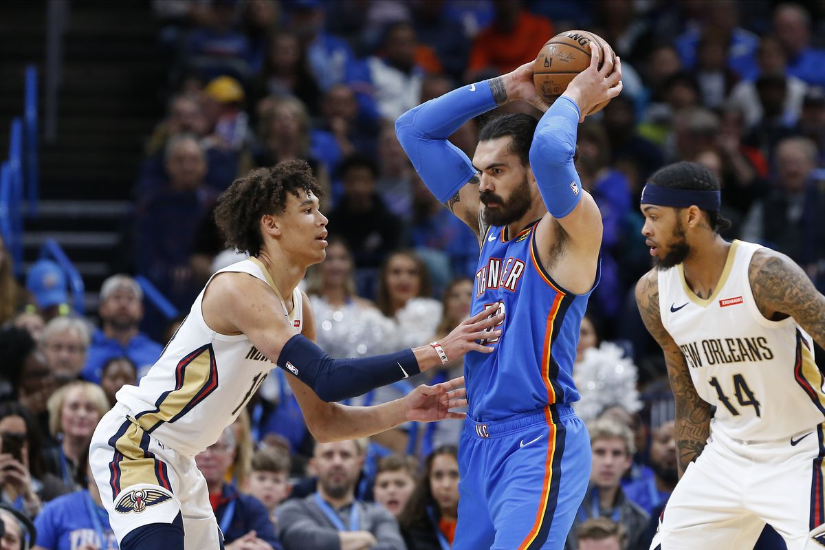 Oklahoma City Thunder Win At Home Against The Young New
