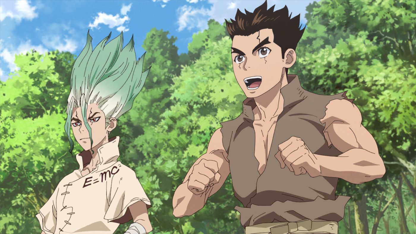 Dr  Stone is an isekai anime that struggles to sell us on