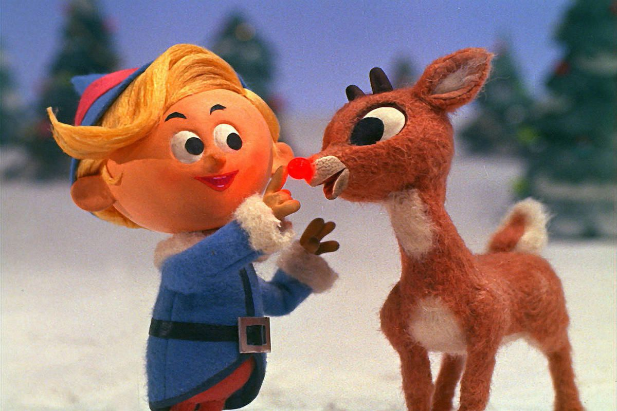 """A scene from the animated classic """"Rudolph the Red-Nosed Reindeer"""""""