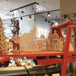 Into the Woods laser cut village, $29.95