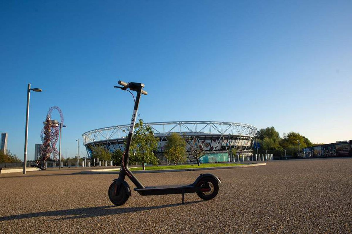The Pilot Is Extremely Limited With Scooters Only Operational On A Single Route In London S Olympic Park