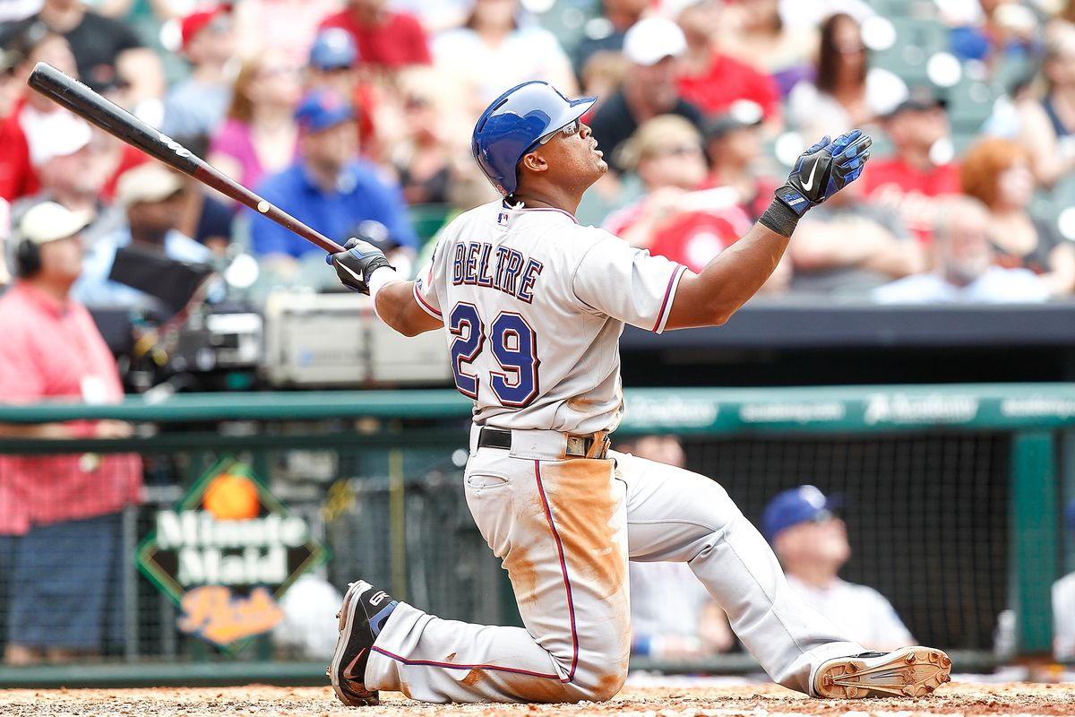 How to hit a home run: Adrian Beltre level