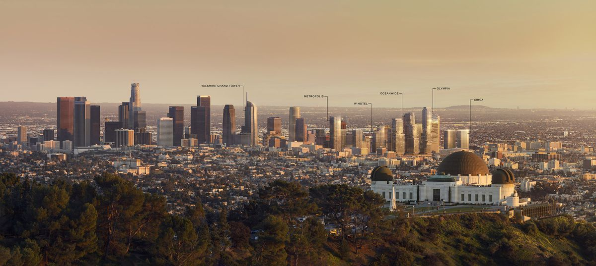 Imagining Downtown La S Skyline In 2030 Curbed La
