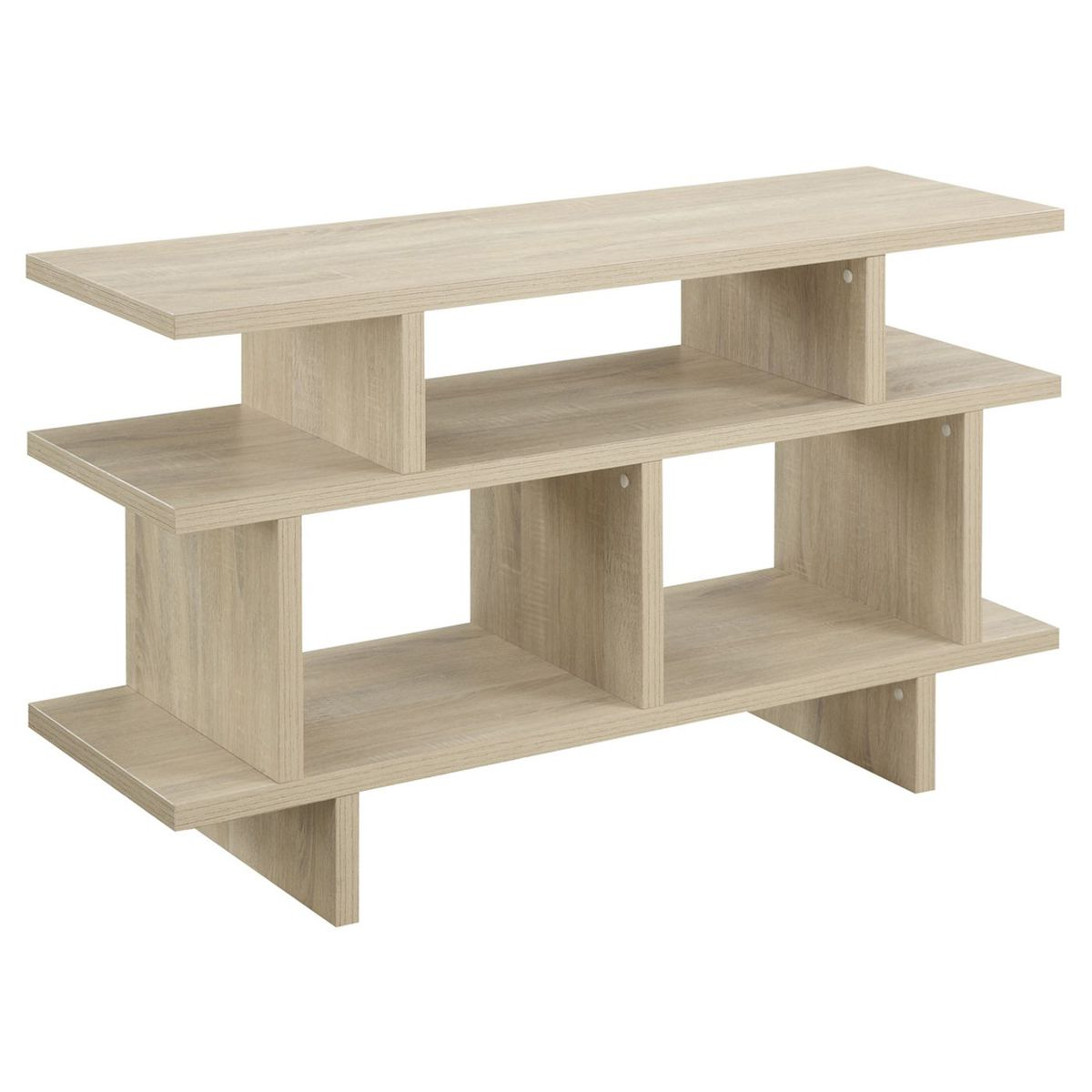 Envision 70 Media Console Wood Tv Stand In Walnut White