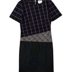 """Band of Outsiders Mixed Plaid Sheath, <a href=""""http://www.bandofoutsiders.com/collections/womens-newest/products/mixed-plaid-ss-sheath?c=Womens"""">$795</a>"""