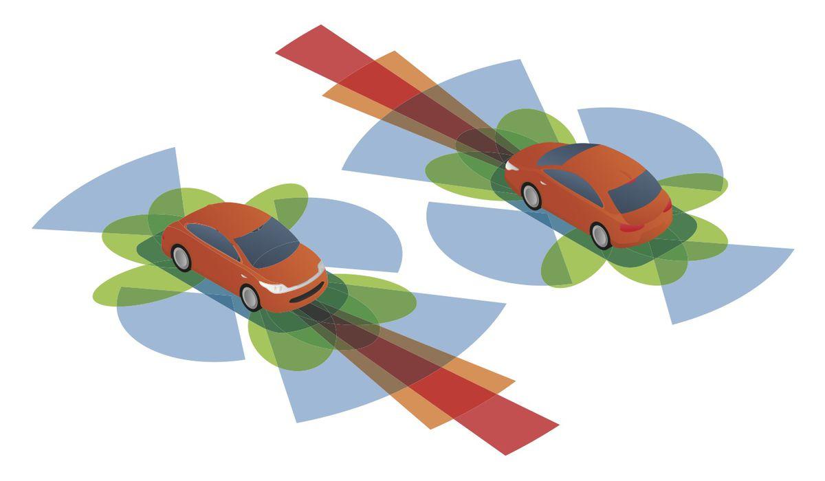 Autonomous car radar systems