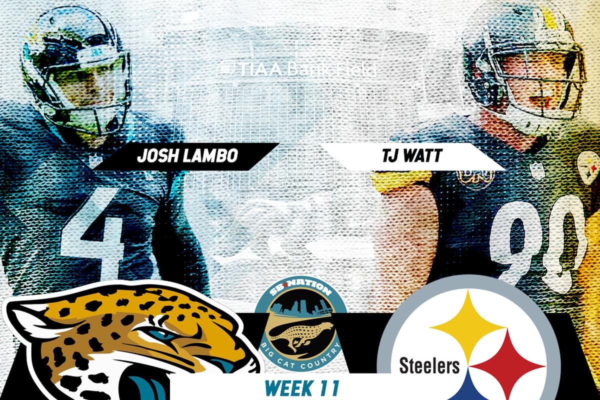 0b1f29da Jacksonville Jaguars vs. Pittsburgh Steelers primer: Key matchups ...