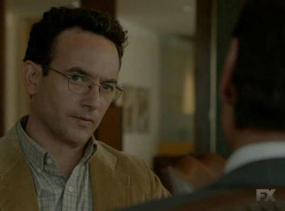Toobin's character on 'American Crime Story'(FX)