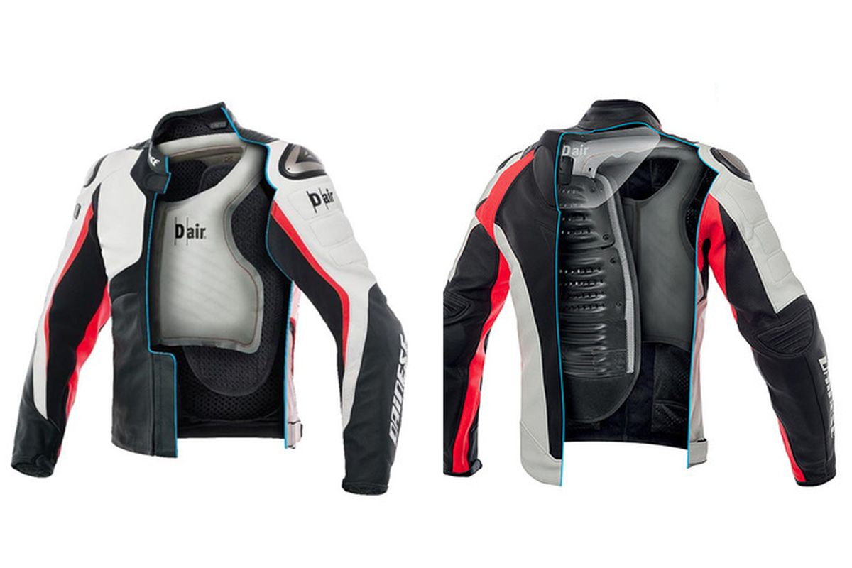 This Motorcycle Airbag Jacket Will Automatically Inflate