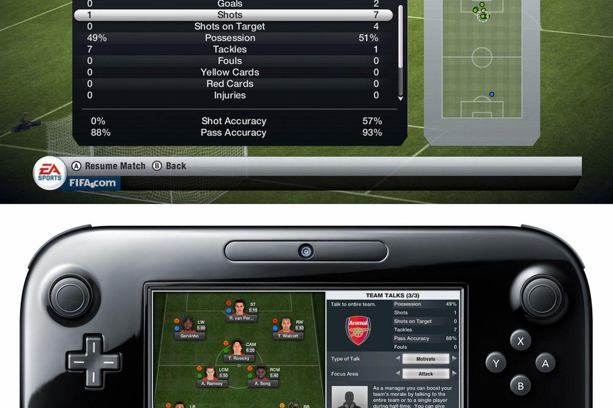 Gallery Photo: 'FIFA 13' Wii U screenshots