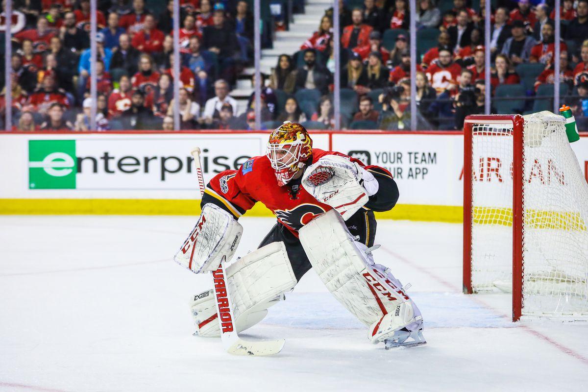 NHL: Colorado Avalanche at Calgary Flames