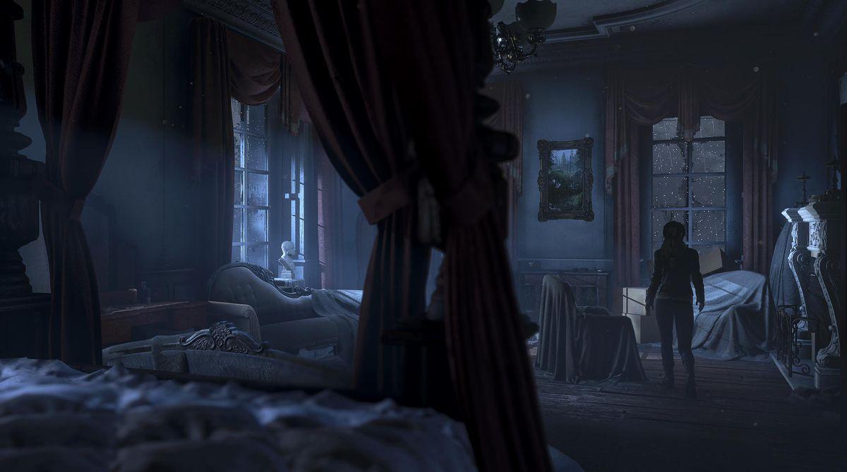 Rise of the Tomb Raider: Blood Ties - Lara bedroom screenshot 1920