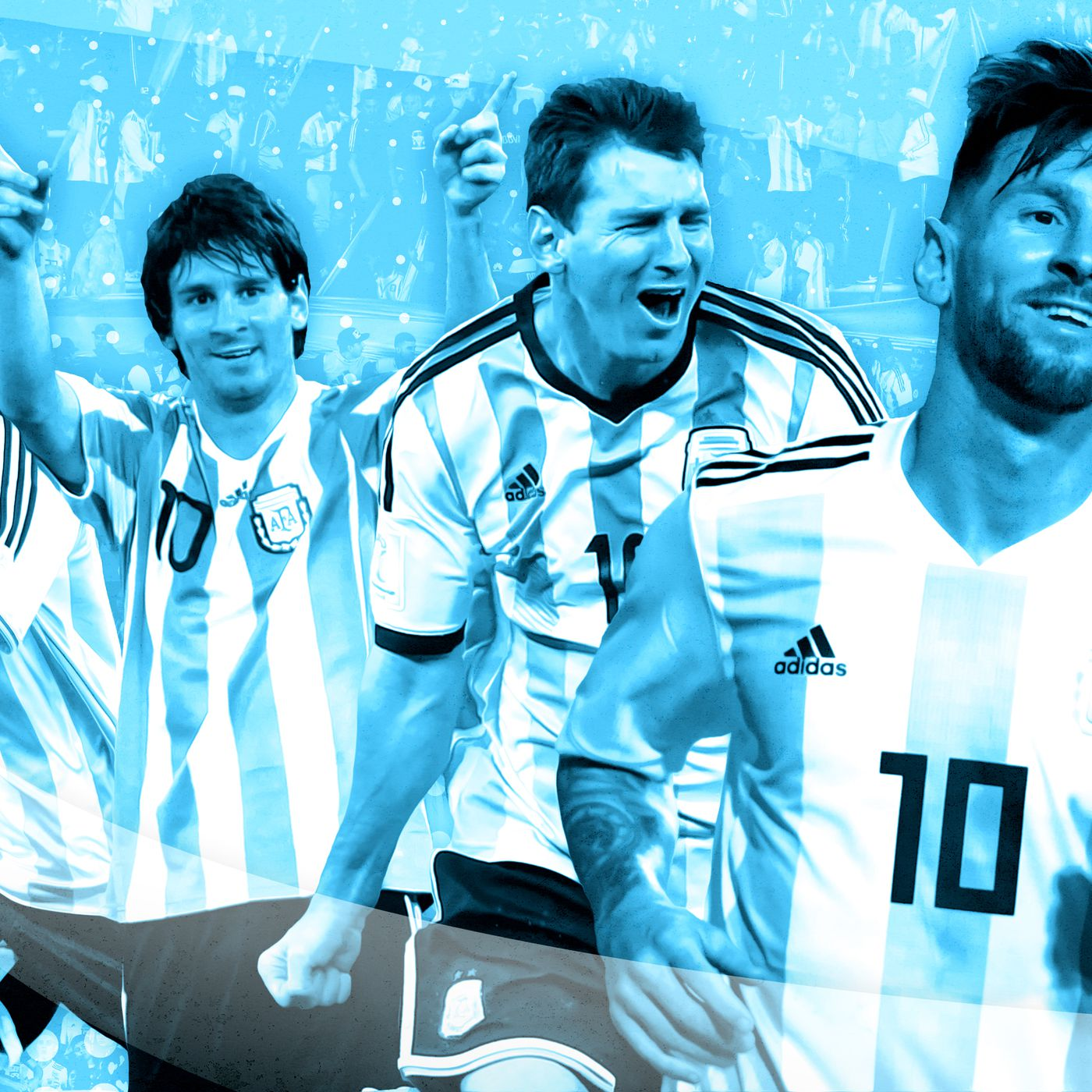 99cae3425 2018 World Cup  The History of Messi and Argentina vs. Everything - The  Ringer