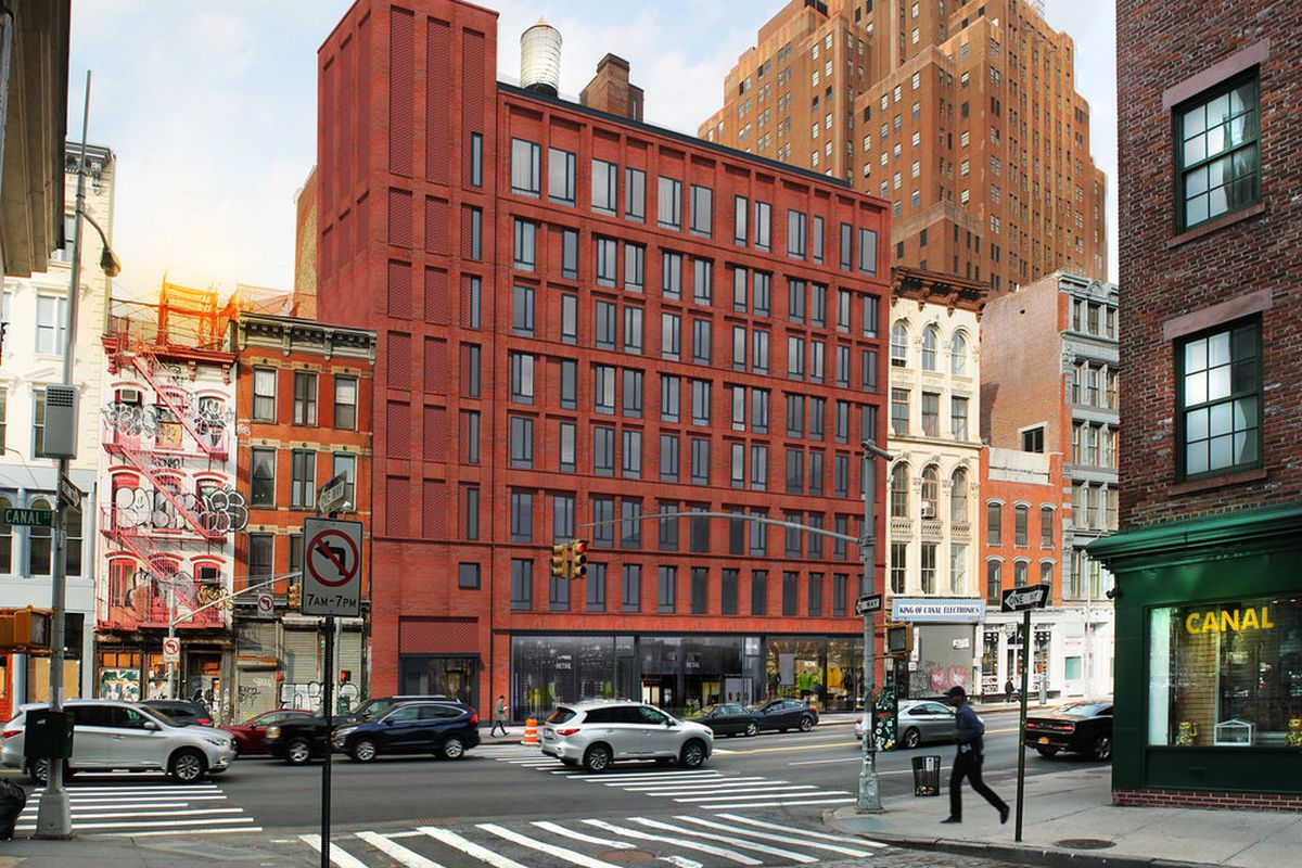 Tribeca community board vetoes reno plan for canal street for Homes for sale in tribeca