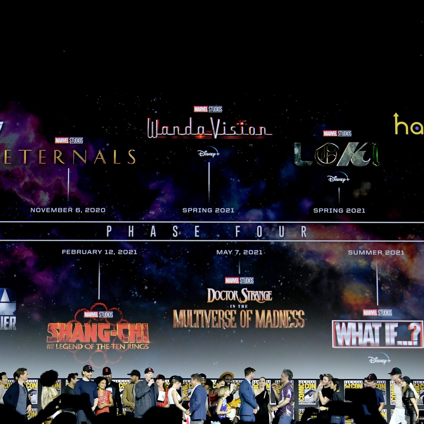 Marvel Reveals Massive Phase Four Film And Television Plan The Verge