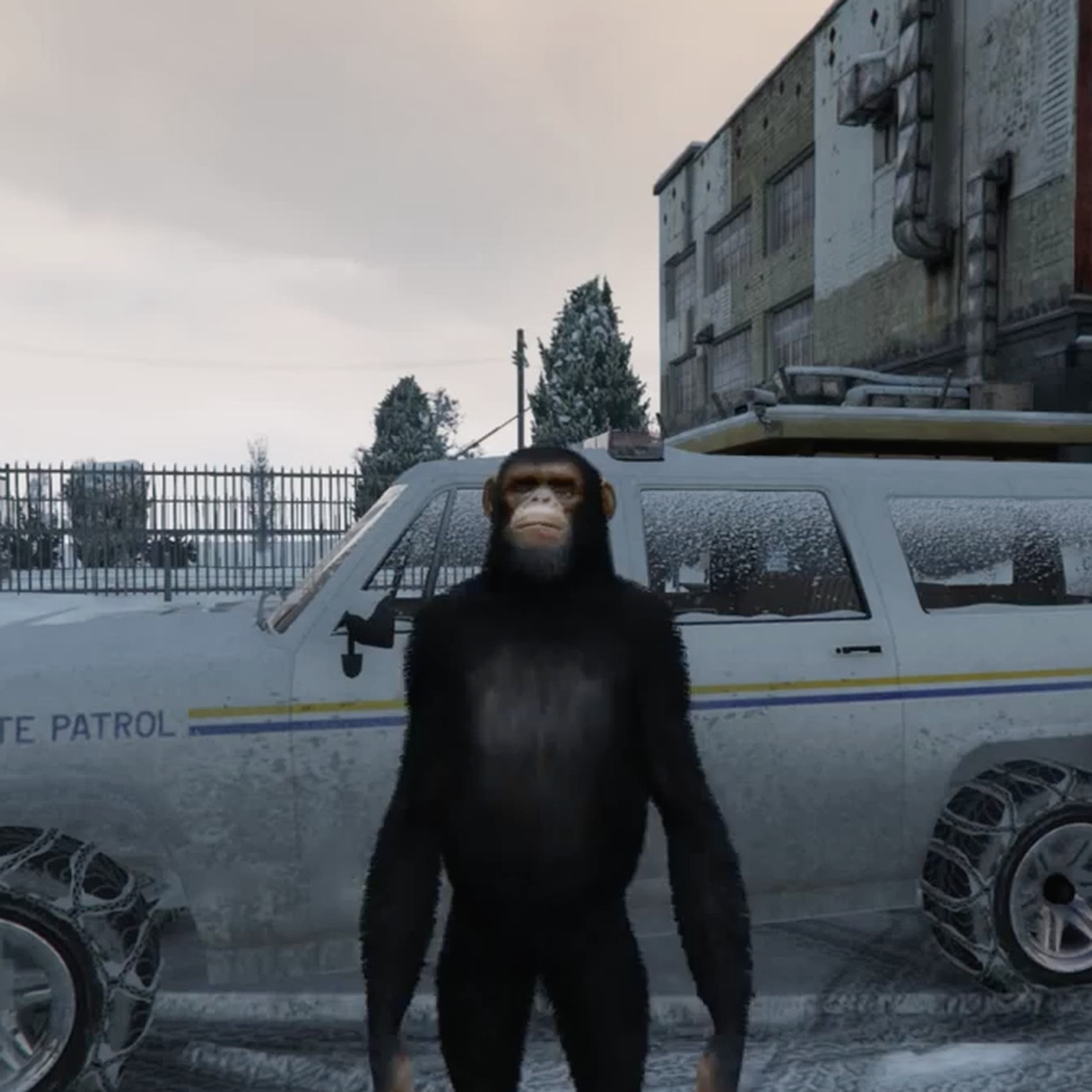 GTA 5 mod lets you explore a hidden, snowy ghost town - Polygon