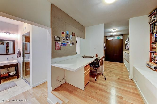 Office and bathroom