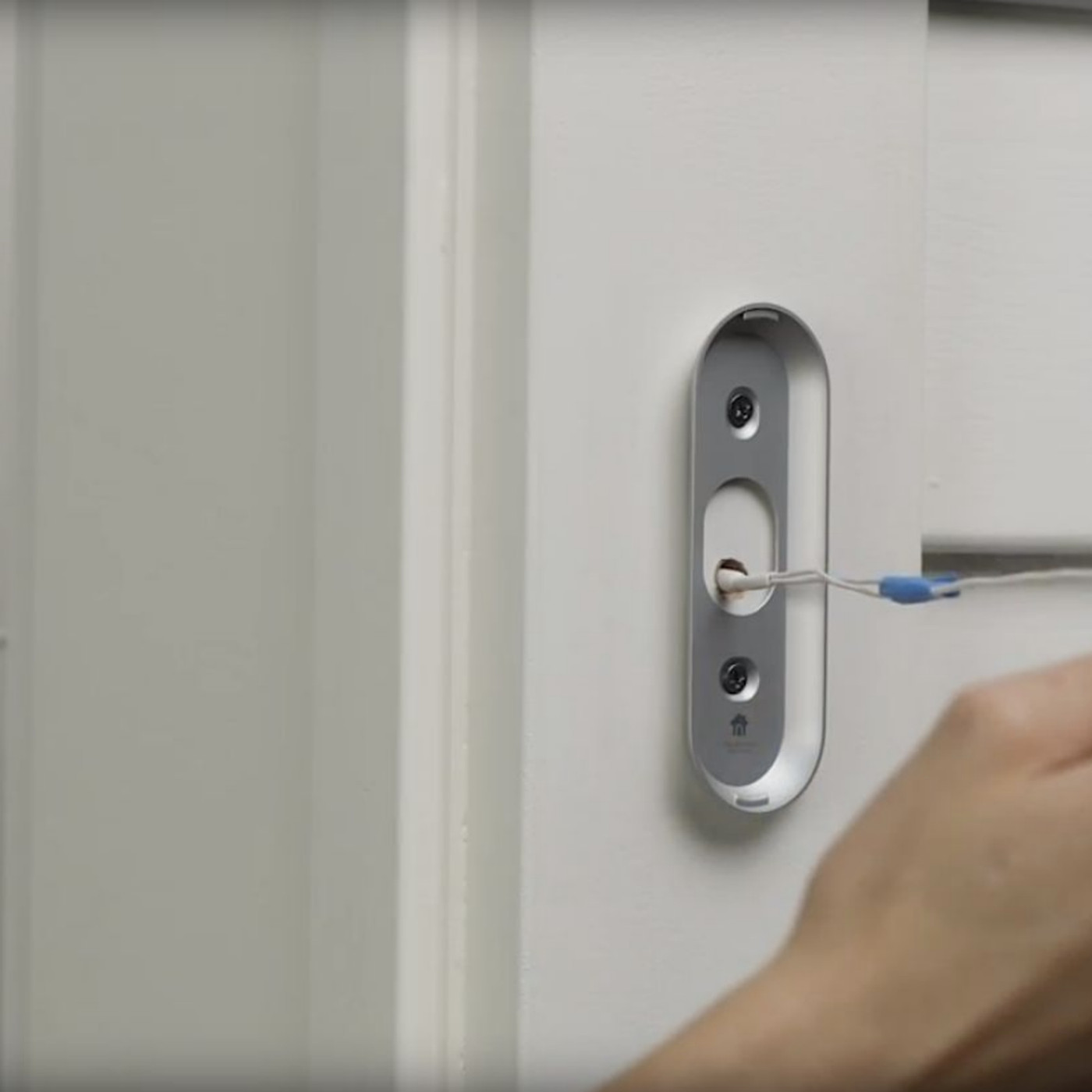 Nest Doesn T Make A Battery Powered Doorbell So Now Google Sells A Power Cable That Needs To Be Drilled Through The Wall The Verge