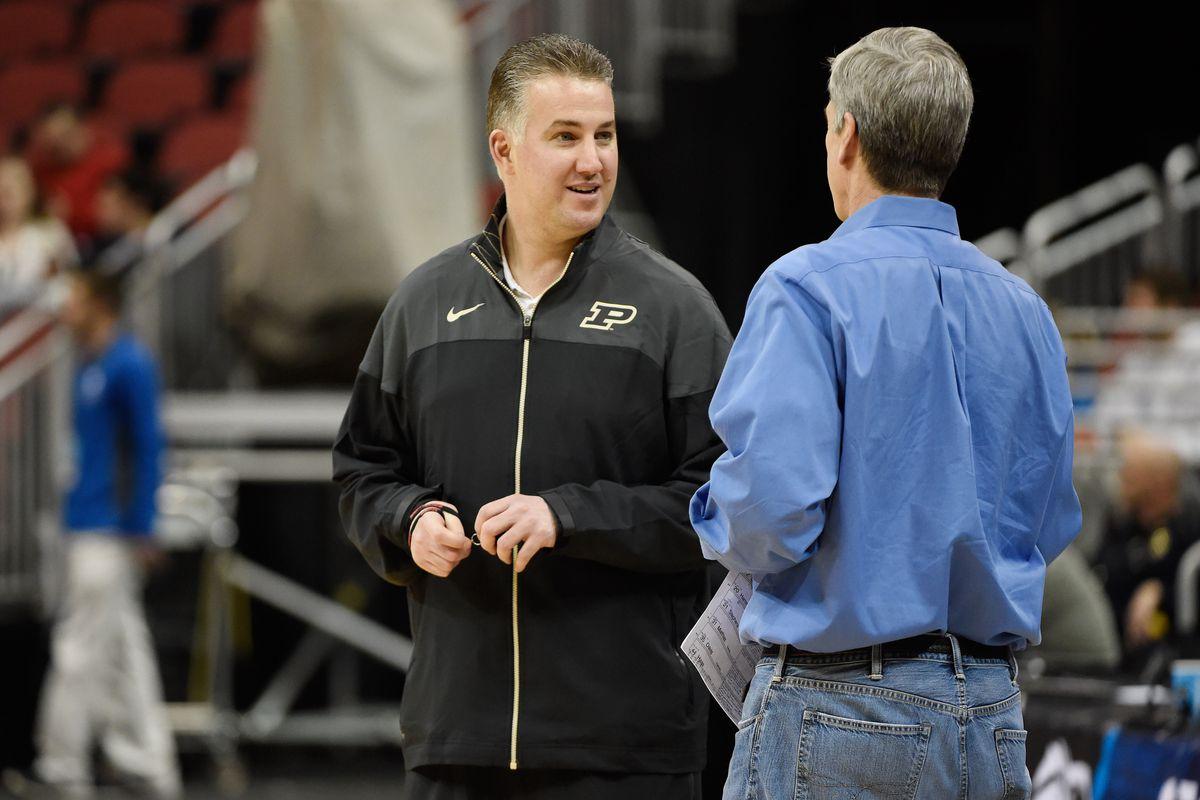 NCAA Basketball: NCAA Tournament-Purdue Practice