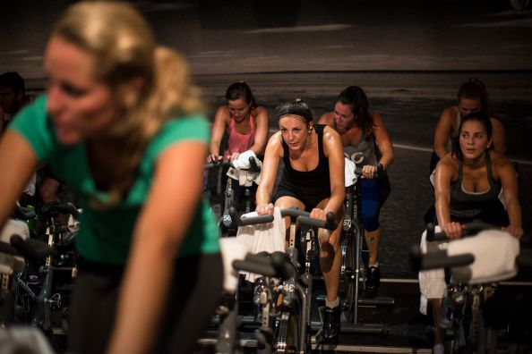 I will never allow someone to photograph me in a SoulCycle class. Photo by Yue Wu/The Washington Post via Getty Images)