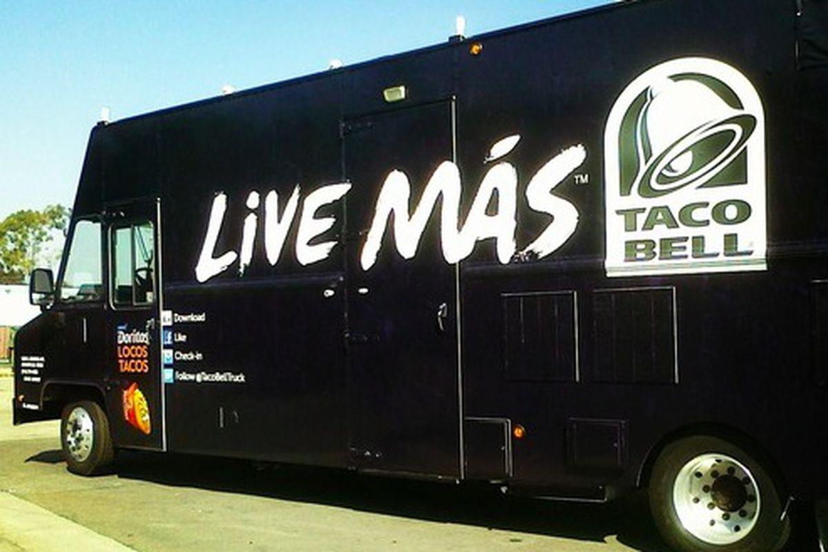 Taco bell truck