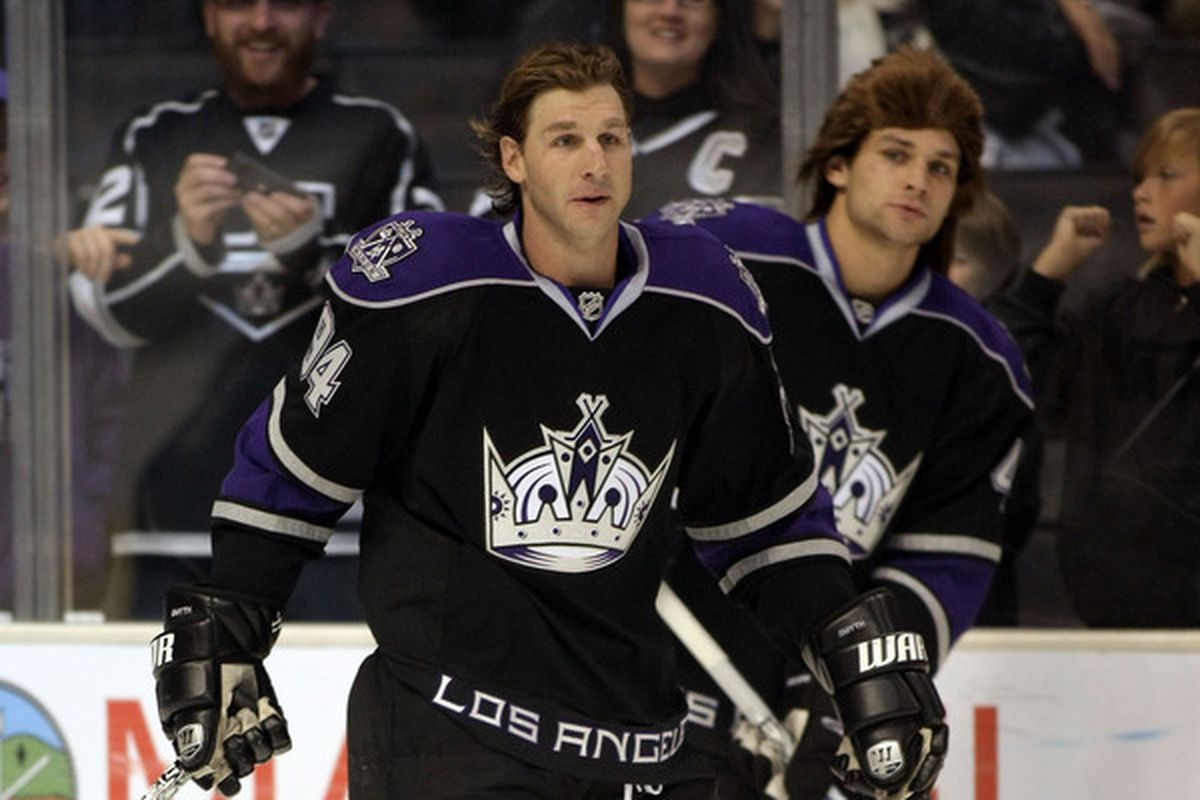 The Kings' broadcast crew celebrated Ryan Smyth's 1,000th NHL game by mentioning it 1,000 times tonight.