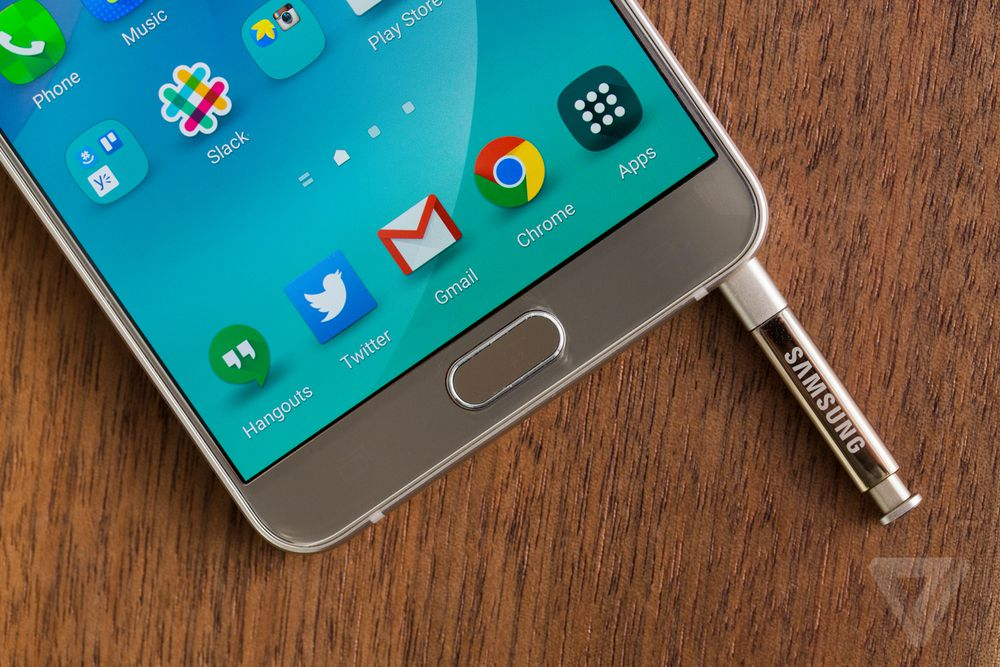 Samsung Galaxy Note 5 review | The Verge