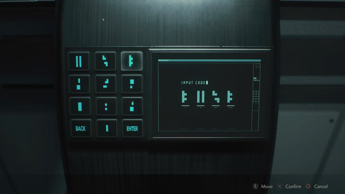 Greenhouse Control Room puzzle solution Resident Evil 2