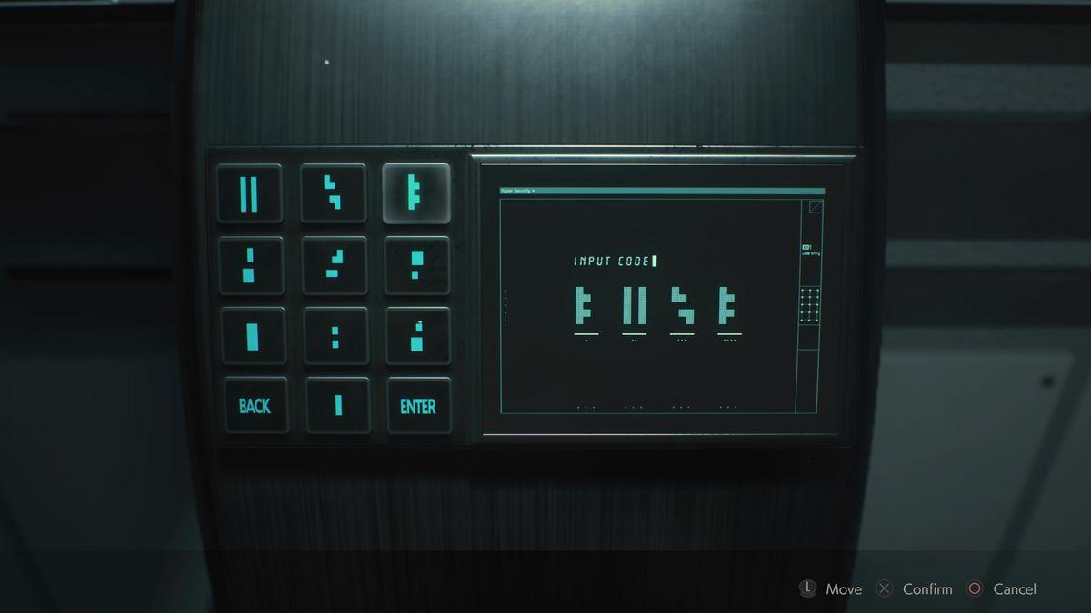 Решение головоломки для теплицы Control Resident Evil 2