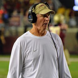 FSU analyst Jim Leavitt on the side line analyzing things that need to be analyzed.