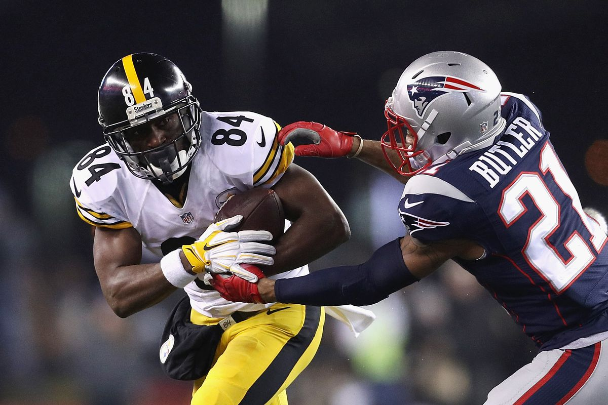 detailed look 6f87c eb7cd Antonio Brown can rehab his value — and chase a ring — with ...