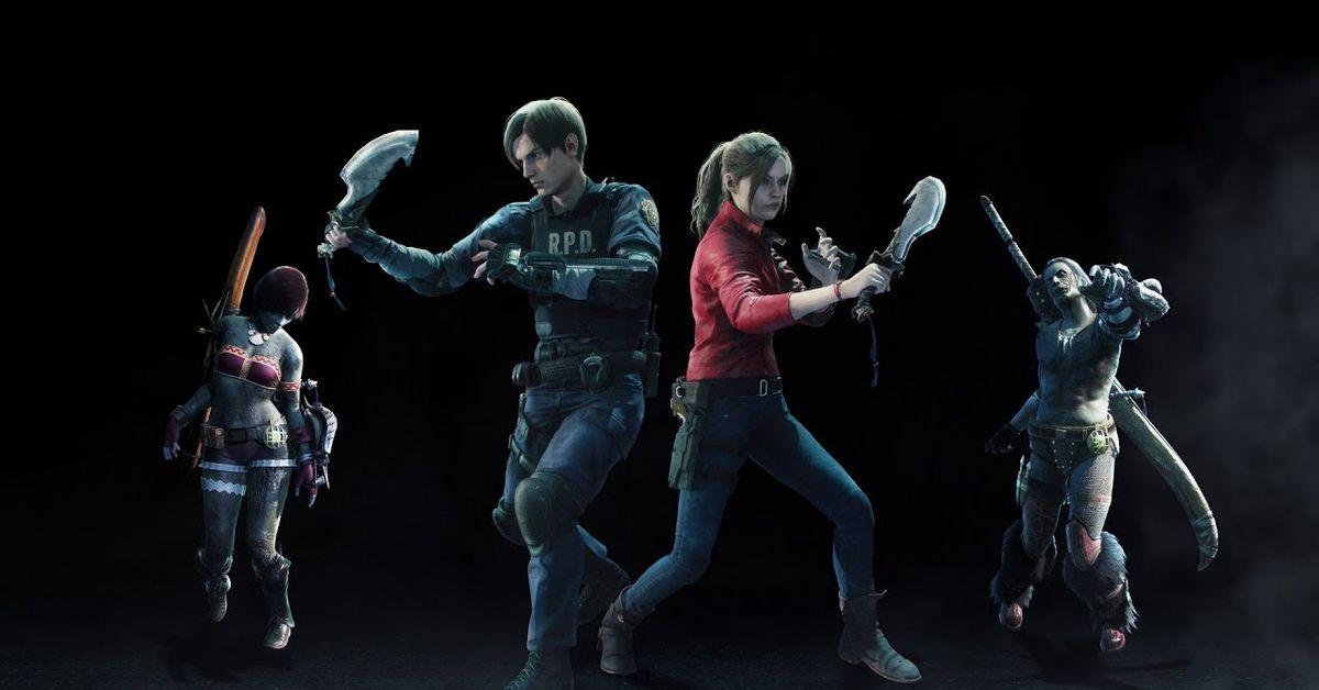Monster Hunter World Iceborne Resident Evil crossover revealed