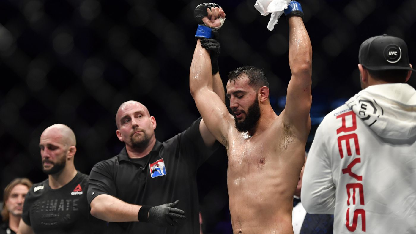 After UFC 'London' win, Dominick Reyes admits he needs 'one or two' more wins before dancing with Jon Jones