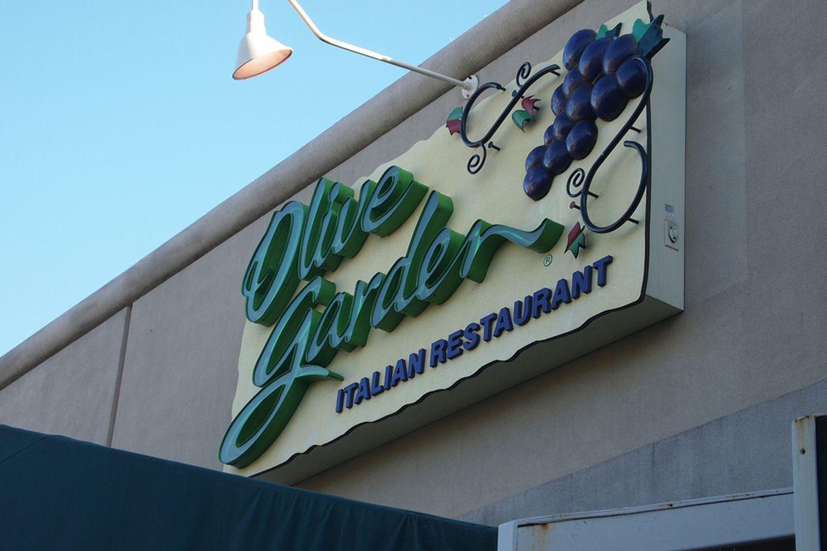 las vegas diners really love red lobster olive garden - Olive Garden Las Vegas