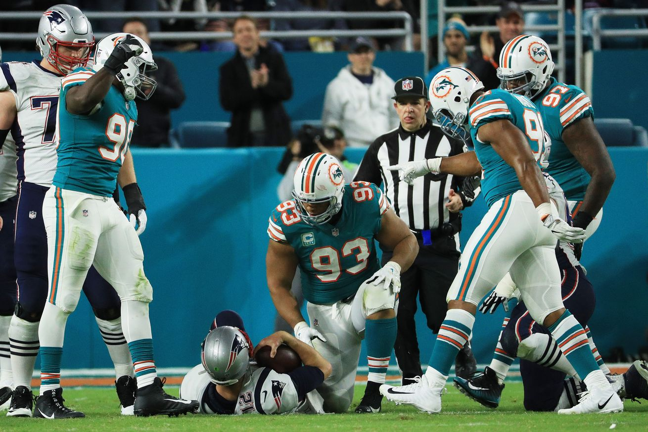 The Splash Zone 1/20/18: Dolphins Defensive Line Did Not Meet Expectations